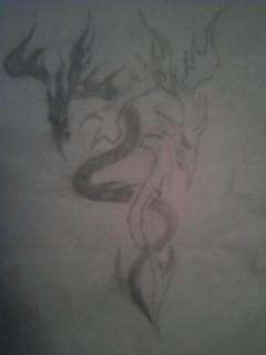 Dragon Yin Yang by XxRonnieDxX