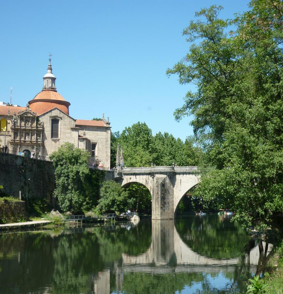 Ponte de Amarante by Mika-18