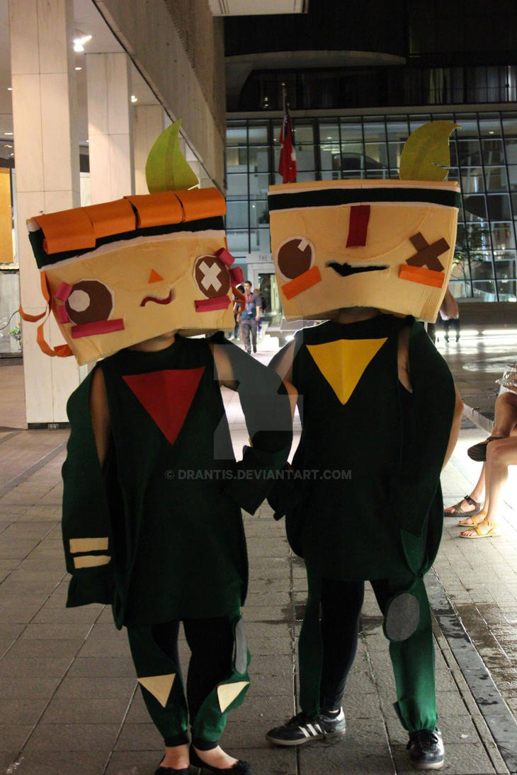 TEARAWAY cosplay by Drantis