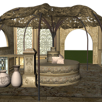 Leafy Pavilion 01