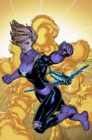 Captain Marvel by Brianskipper