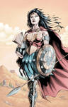Wonder Woman In Armor