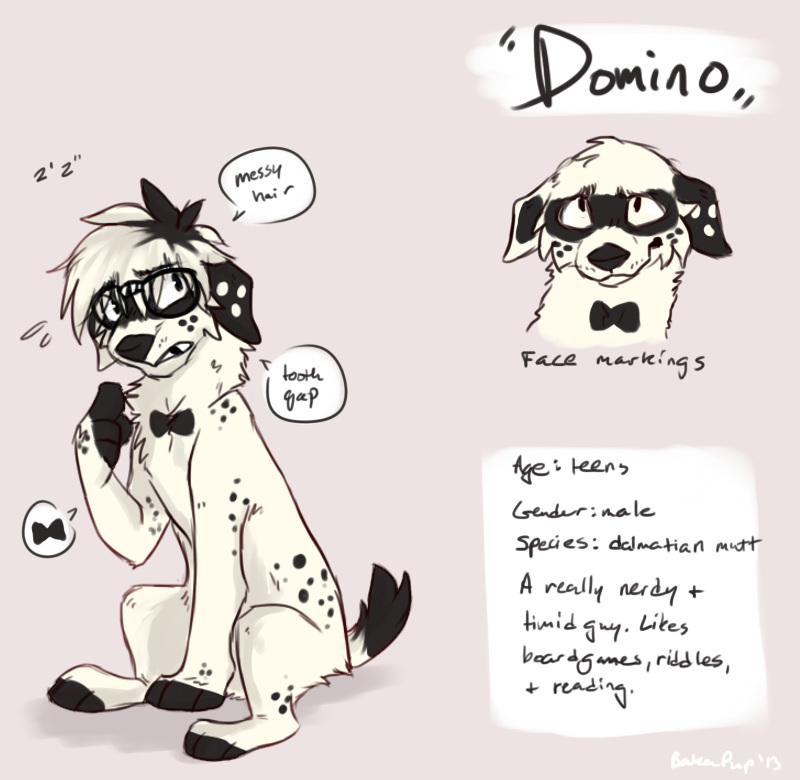 Dommy ref by BakaPup