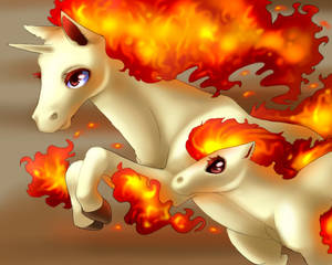 FLAMIN HORSES
