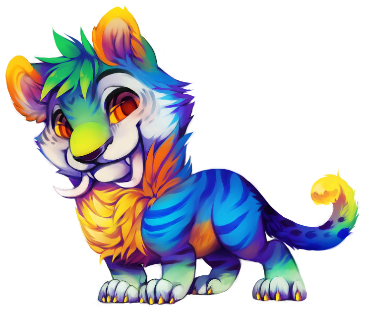 Tiger thing by Kiwibon