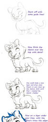 Tiger thing - Tutorial by Kiwibon