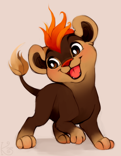 totally not simba nope not at all by Kiwiggle
