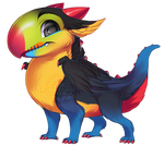 If birds were dragons: Toucan