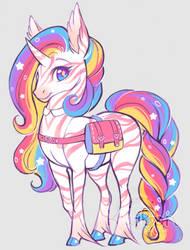 Rainbow unicorn by Kiwibon