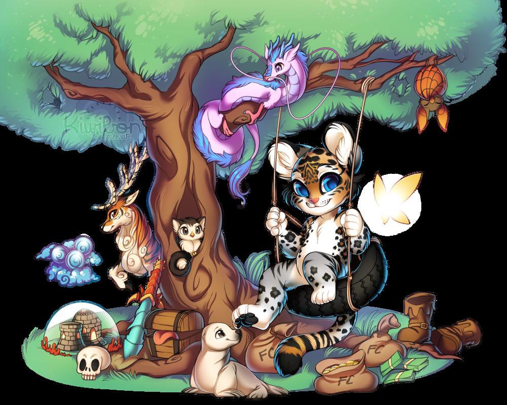Sora - Giving tree by Kiwibon