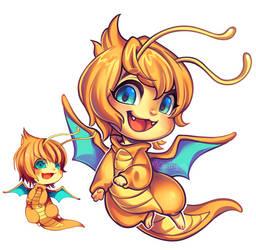 dragonite redraw!!