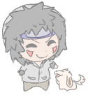 Mini Kiba chibi. by Kiwiggle