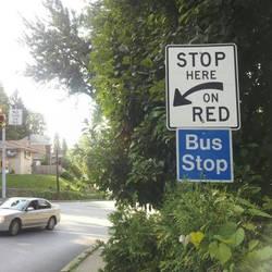 Random Bus Stop