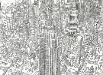 Midtown Manhattan II by NY-Disney-fan1955