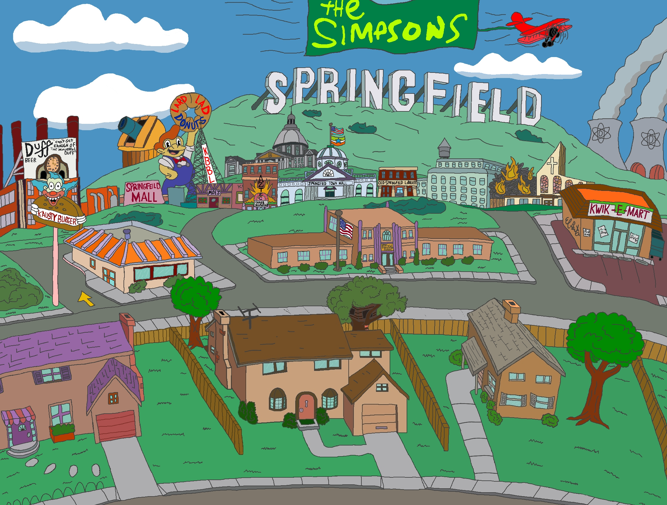 Springfield by NY-Disney-fan1955