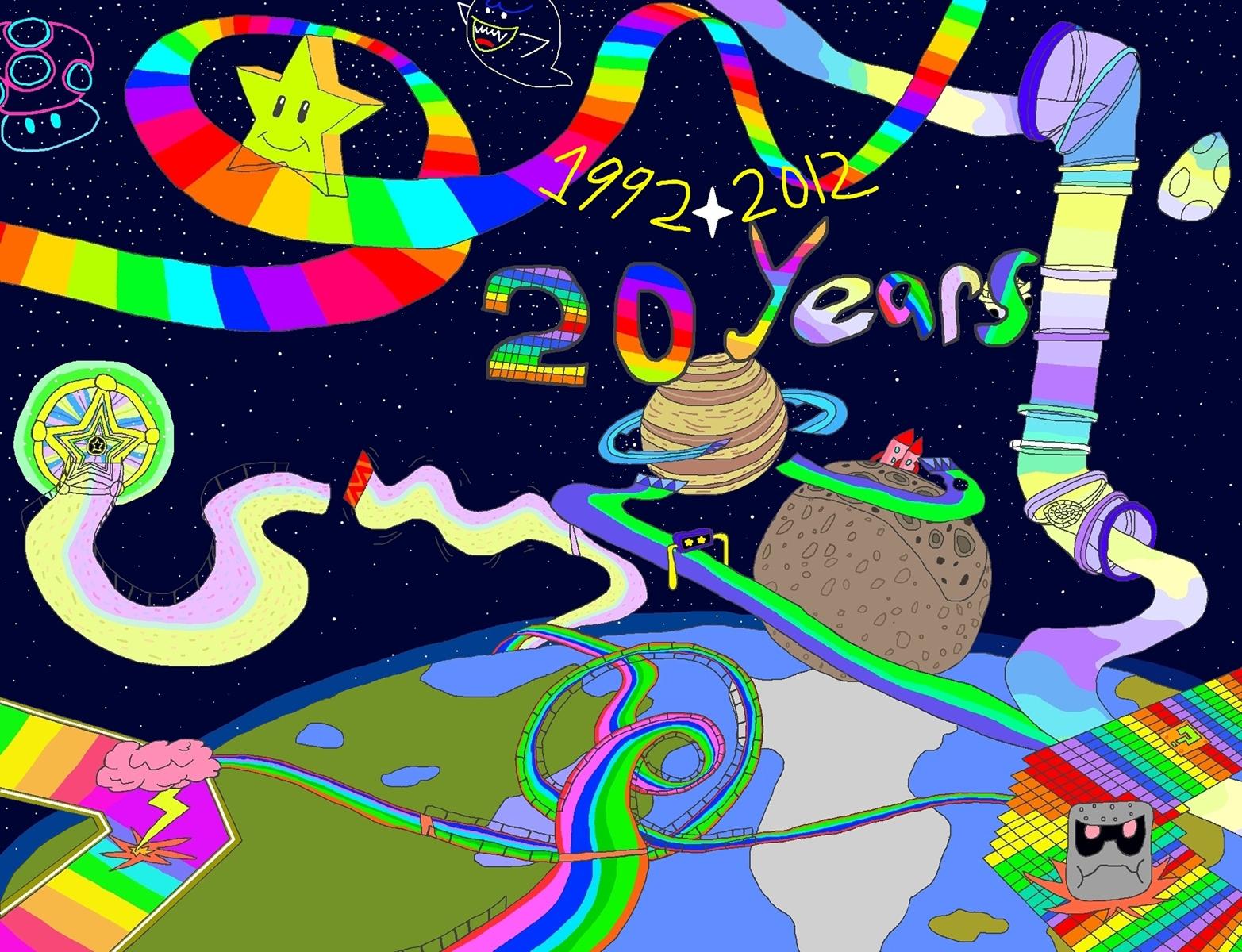 20 Years Of Rainbow Road By Ny Disney Fan1955 On Deviantart