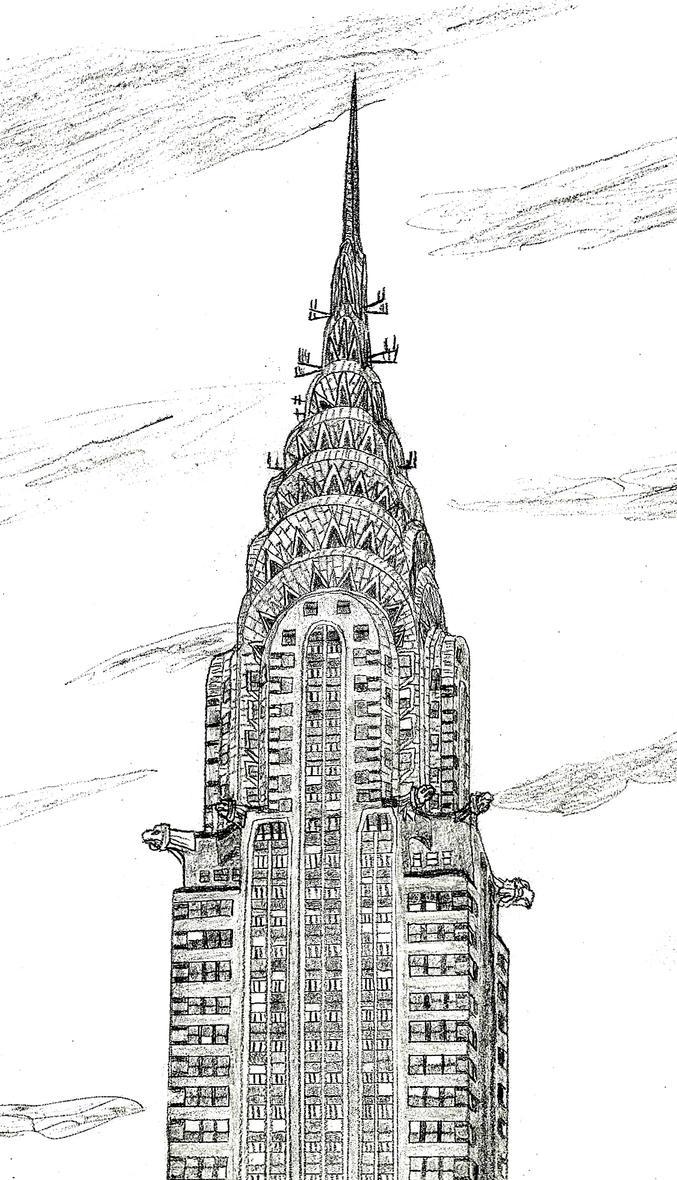 Chrysler Building by NY-Disney-fan1955 on DeviantArt