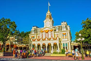 City Hall of Main Street U.S.A by NY-Disney-fan1955