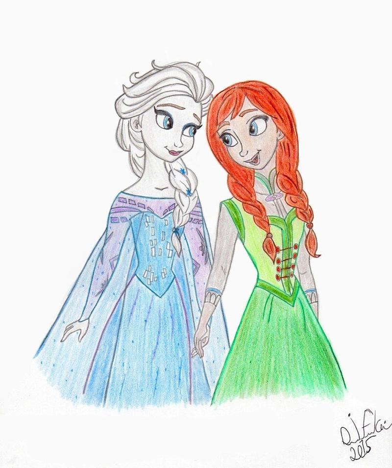 Frozen: Sisterhood by NY-Disney-fan1955