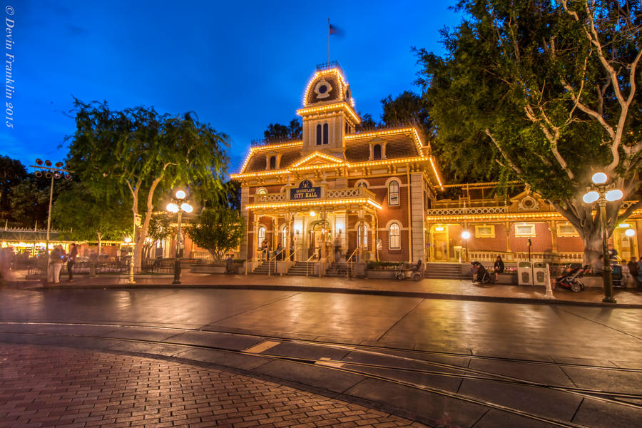 Disneyland City Hall By NYDisneyfan On DeviantArt - What city is disneyland in