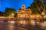 Disneyland City Hall by NY-Disney-fan1955