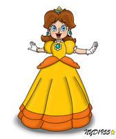 Princess Daisy by NY-Disney-fan1955