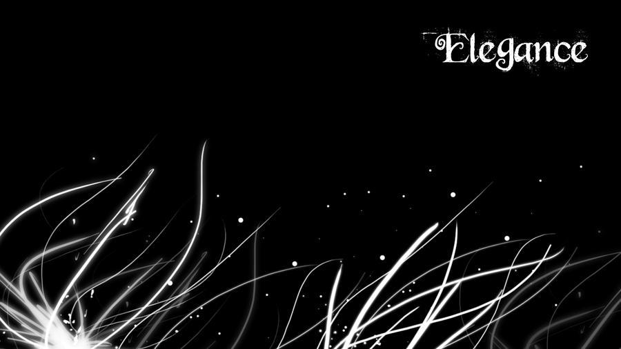 Elegance - BW by Pluberus