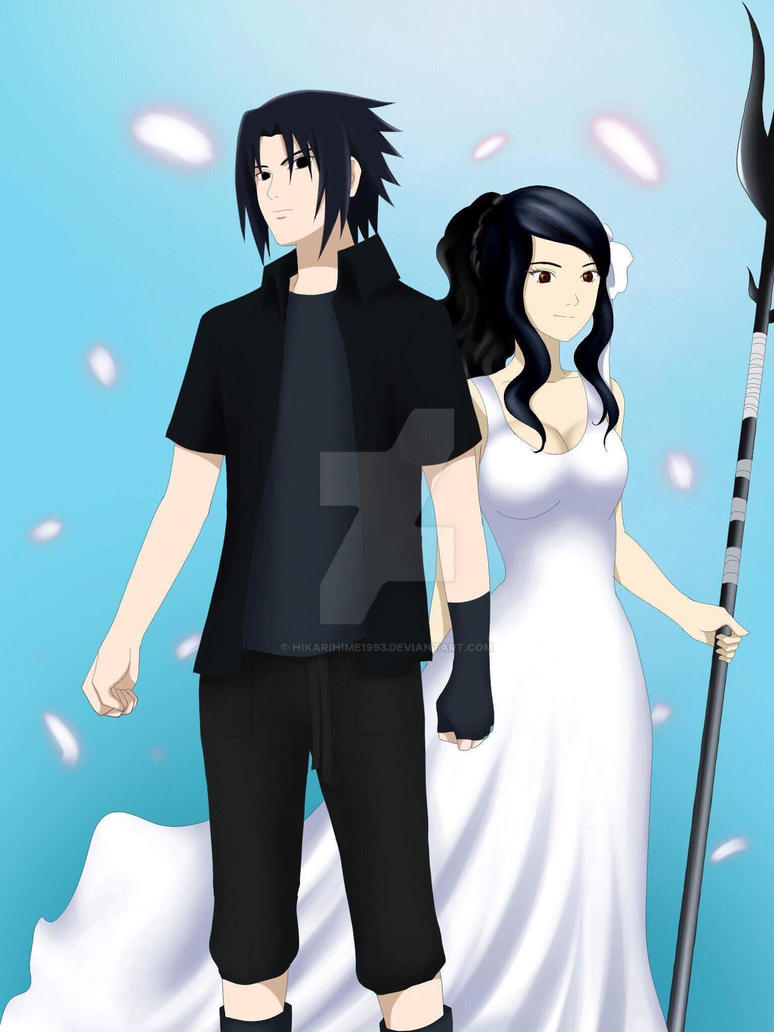 Sasuke and Hikari by HikariHime1993