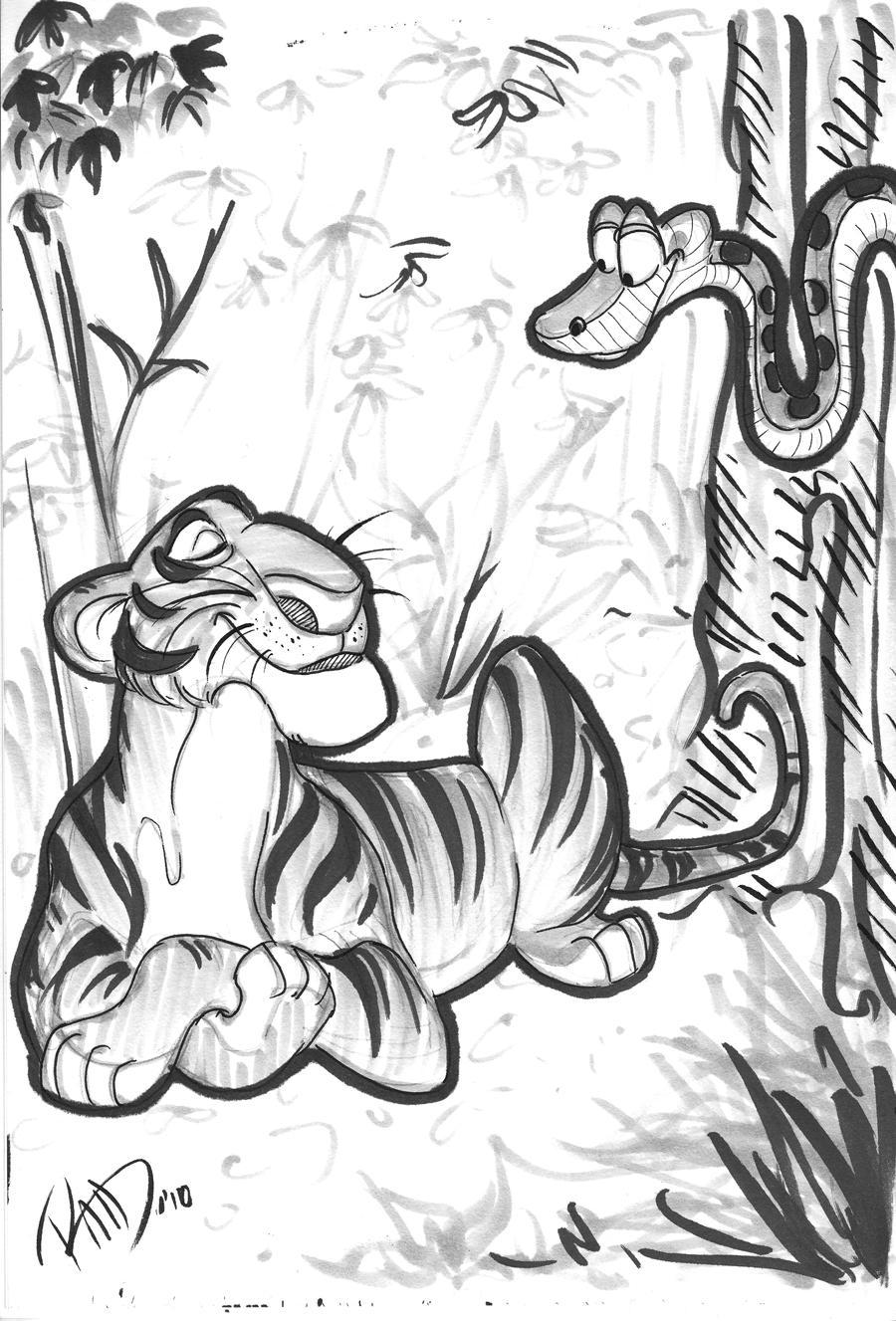 Jungle Book Sketch By Albell On DeviantArt