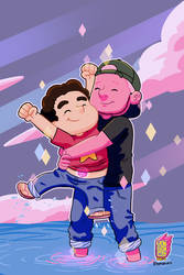 Steven and Fan by yonson-cb