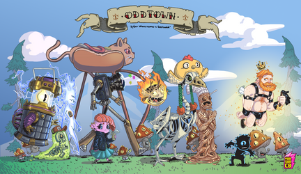 Odd Town by yonson-cb