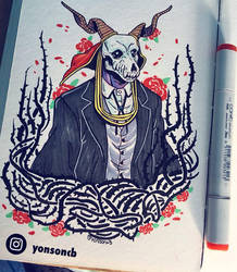 Ancient Magus Bride - Elias Ainsworth - Fan Art by yonson-cb