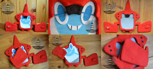 RotomDex Plush Pokemon - removable faces by BoiraPlushies