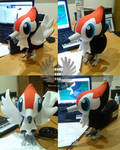 Pikipek Plush Pokemon - Life size
