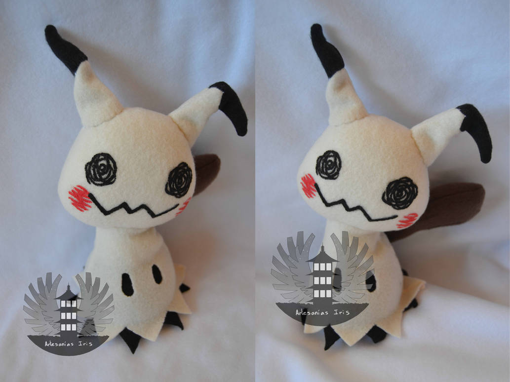 Life size Mimikyu plush - Pokemon sun and moon by BoiraPlushies