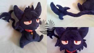 cat Kuro plush - Servamp by BoiraPlushies
