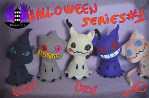 Halloween Mimikyu plushies Series  #1 by BoiraPlushies