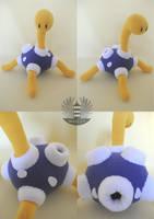 Custom Shuckle plush by BoiraPlushies