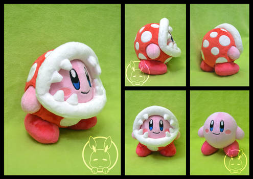 Piranha Plant Kirby plush
