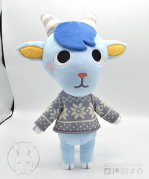 Handmade Sherb plush - Animal Crossing