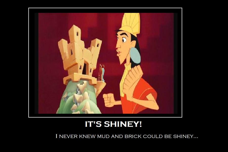 it's...shiney... by lightninglarxene