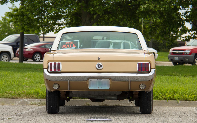 1965 Ford Mustang Rear End By Joerayphoto On Deviantart