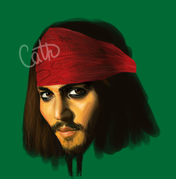 Captain Sparrow Update by CatherineNorbant