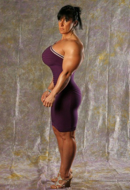 curvy female bodybuilder by cribinbic ... Muscle Girls Mature Female Muscle Armwrestling Women Bodybuilding ...