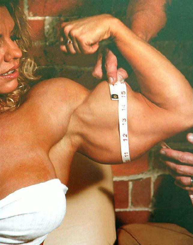 Female Bicep Measurement