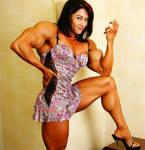 casual biceps display
