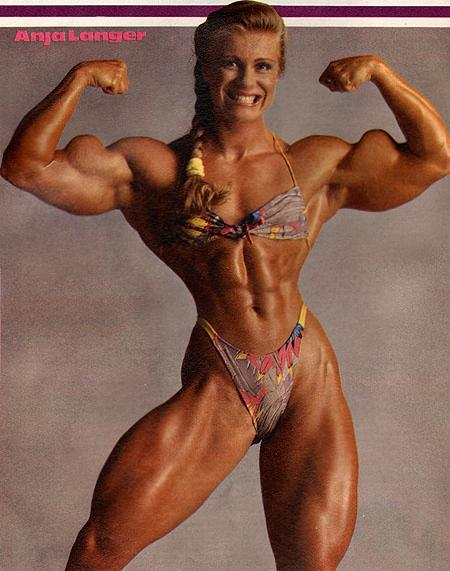 image Extremely vascular fbb posing