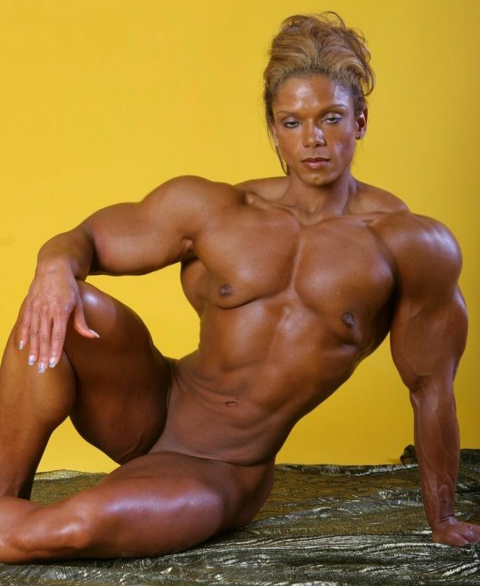Культуристки женщины голые фото