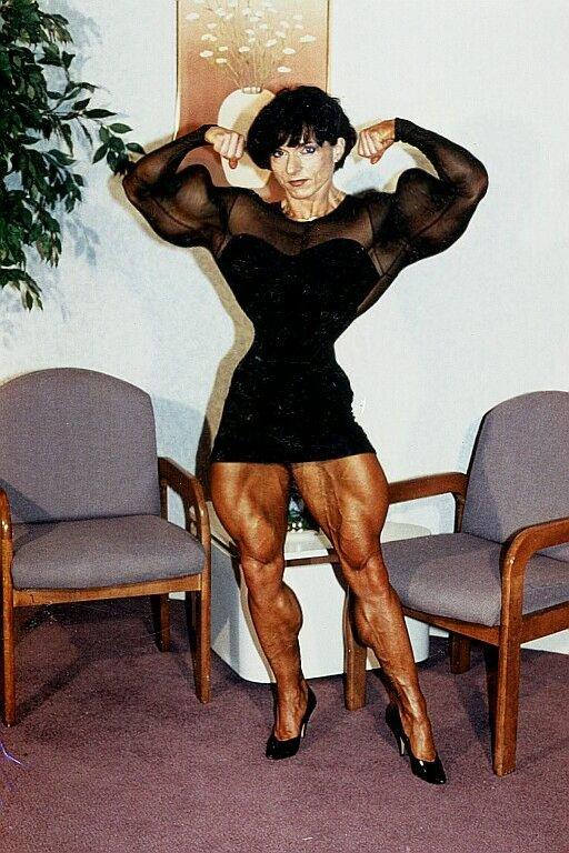 Muscle Lady by cribinbic