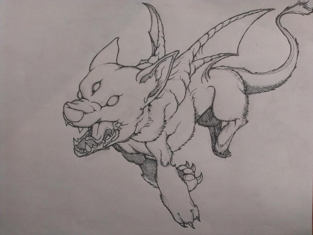 Dogdragon by krutch99